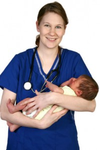 Baby Newborn and Nurse