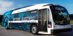 Battery buses for university students will help result in their selecting battery buses after they graduate, says Proterra.